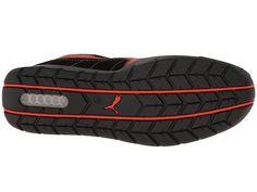 PUMA Safety Silverstone SD Men's Work Boots Black/Red