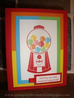 Bubble Gum! by tammychristine - Cards and Paper Crafts at Splitcoaststampers