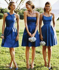 Si vous avez déjà été demoiselle d'honneur vous savez qu'il y'a un certain stress qui s'installe pour choisir la robe de demoiselle d'honneur qui va le plus vous mettre en valeur et en même temps faire plaisir à la mariée. Il est possible d'opter pour une robe bleue qui contraste avec le blanc de …