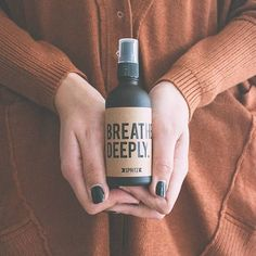Breathe Deeply - Peppermint and Eucalyptus Essential Oil spray - Stress relieving, cooling and soothing