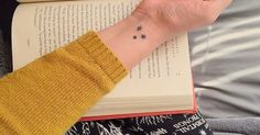 When choosing to get a tattoo inspired by your favorite fiction — in this case, Harry Potter — you typically have two choices. You can go all-out and shout your love from the rooftops by getting an easily recognizable tattoo, or you can play it co