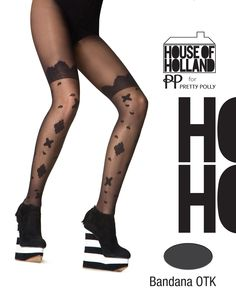 House of Holland AKV4 Bandana otk tights € 9.95