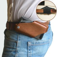 Specification :Color: Black,Brown,CoffeeStyle: VintageMaterial: GenuineLeatherWallets Type: Phone HolderWallet Style: Clasp ClosureCustomer Age: 26-35 Years,36-45 Years,45+ YearsCapacity: 6.3 Inch PhonePackageincluded:1*BagA simple and reliable leather case-holster for a phone in a minimalist style.Easy to install on the belt. Made from high quality and durable leather. Phone Holster, Cheap Crossbody Bags, Cell Phone Pouch, Phone Wallet, Mocassins Cuir, Leather Holster, Leather Phone Case, Casual Bags, Leather Men