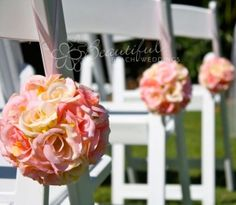 Rose Kissing Ball Decoration 2 colours - DIY Hire