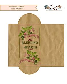 PIN COUNT      This Seed packet is for those of use who share our    seeds with friends.......   I designed a matching  mailing envelope. ...