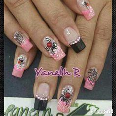 Nail Art, Nails, Beauty, Work Nails, Lace Nails, Decorations, Nail Decorations, Finger Nails, Ongles