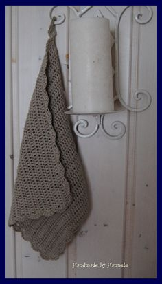 Vierapyyhe virkaten Bathroom Hooks, Handmade, Hand Made, Handarbeit