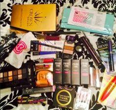 BeautyCon/NYC Giftbag & Haul + GIVEAWAY ^_^ http://www.pintalabios.info/en/fashion_giveaways/view/en/1987 #International #MakeUp #bbloggers #Giveaway