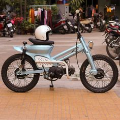 Garage Project Motorcycles - the-rd: Nice. Lê Thanh Bình from Ho Chi Minh. Custom Moped, Custom Bikes, Moped Motor, Vintage Moped, Honda Ruckus, Honda Cub, Scooter Motorcycle, Chopper Bike, Mini Bike