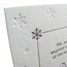 Hey, I found this really awesome Etsy listing at https://www.etsy.com/listing/92389223/luxury-winter-wedding-invitations