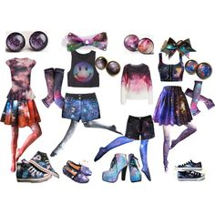 """Galaxy Party"" by olliegmich493 on Polyvore"