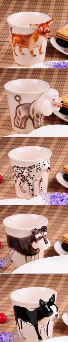 Wonder Zoo   Handmade cute animal 3d coffee milk mugs