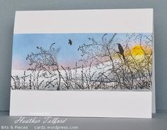 We have a special treat today as Heather Telford joins us for a spotlight! Heather creates amazing greeting cards and I know you'll love what she's done with Penny Black stamps… A…