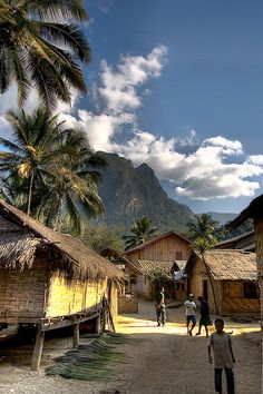 Left a piece of my heart with this country. Truly beautiful. Laos - Luang Prabang Village