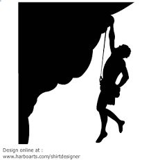 Image result for rock climbing silhouette
