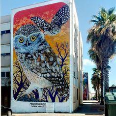 """296 curtidas, 5 comentários - Urban Art Porto (@urban_art_porto) no Instagram: """"Urban Art Porto in Lisbon """" Mocho Galego """"artwork by @charpuipunk at Quinta do Mocho for…"""""""