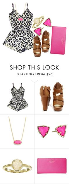 """""""Oorn"""" by so-preppy ❤ liked on Polyvore featuring Kendra Scott and Kate Spade"""