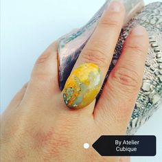 Beautiful bumblebee jasp ring. 💛 Not available ! Find us on Facebook! #handmade #uniquering #bumblebeejasp #bumblebee #unique #oneofakind #AtelierCubique #madeinromania Find Us On Facebook, Unique Rings, Gemstone Rings, Gemstones, Beautiful, Instagram, Handmade, Jewelry, Atelier