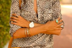 I love button up shirts, I love leopard print... therefore I double love this shirt!