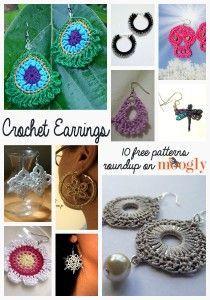 Free Crochet Earrings Roundup on Moogly