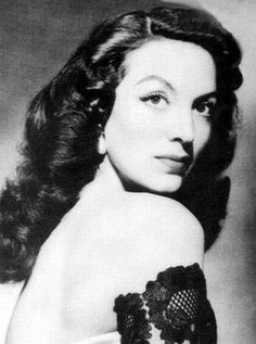 Maria Felix is described as the most beautiful woman in the world.  She played strong female roles.