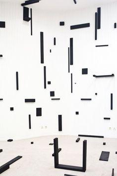 Based on a Grid by Esther Stocker #GISSLER #interiordesign