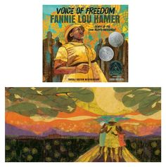 Empowering books for girls: Voice of Freedom: Fannie Lou Hamer, Spirit of the Civil Rights Movement by Carole Boston Weatherford and illustrated by Ekua Holmes