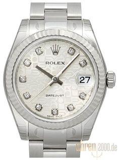 Rolex Datejust 31 178274 Silber Jubile Diamant
