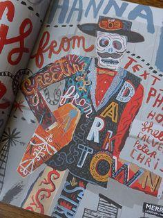 Jonny Hannah's 'Greetings from Darktown: An Illustrator's Miscellany' (via 'All Things Considered')