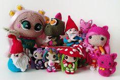 Amigurumi - Crochê - Coleção