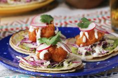 Live Your Best Life With These Beer-Battered Shrimp Tacos