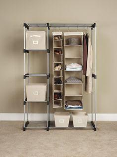 Exceptionnel Closet Organizer Storage Rack Portable Clothes Hanger Home Garment Shelf  Rod In Home U0026 Garden, Household Supplies U0026 Cleaning, Home Organization, ...