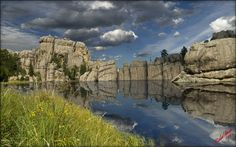 Sylvan Lake Reflection by Mike Stauder on 500px
