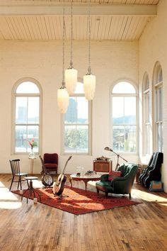 Salas de música e estúdios caseiros, 23 ideias para você se inspirar - limaonagua