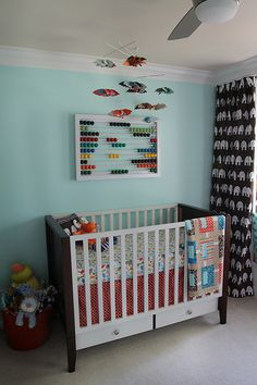 Cute nursery for a boy (or possibly gender neutral)