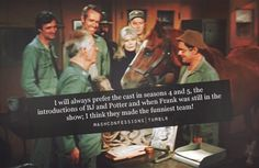 Yes! Another mashconfession I agree with! #mash