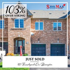 ** ANOTHER SOLD OVER-ASKING ** #JustSold this Gorgeous 3 Bedroom Home in High Demand Area of #CreditValley $19,100 over-asking price within just 8 days!! 8 Days, Real Estate, Mansions, Bedroom, House Styles, Home Decor, Bedrooms, Real Estates, Luxury Houses
