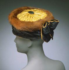 Lucile hat, 1910, via The Philadelphia Museum of Art.