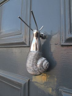 ˚Snail Door Knocker