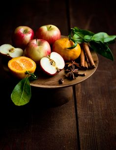 still life w/ fruit & spices