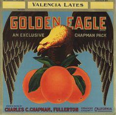 california oranges label