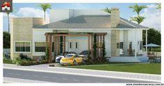 Planta de Casa - 4 Quartos - 264.49m² - Monte Sua Casa