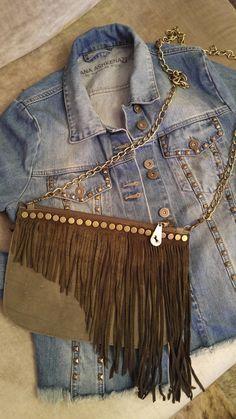 Clutch, Leather Clutch, Leather Purse, Boho Bag, Evening Bag, Fringe Purse,  Bridesmaid Purse, Boho Leather Bag, Boho Leather Purse a8b77478f6