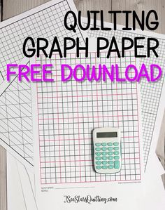 Library ⋆ I See Stars Quilting Quilting Tips, Quilting Tutorials, Craft Tutorials, Quilting Projects, Quilting Designs, Quilt Design, Hand Quilting, Sewing Projects, Printable Graph Paper