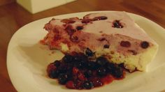 Tvarohovo-proteínová torta od Martiny Struháčkovej