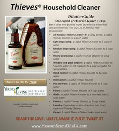 THIEVES® -Thieves® Oil Blend is formulated with highly #antiviral, #antiseptic…