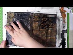 Скрапбукинг/Мужской блокнот/Обзор и небольшой МК - YouTube