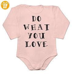 Do What You Love Baby Long Sleeve Romper Bodysuit XX-Large - Baby bodys baby einteiler baby stampler (*Partner-Link)