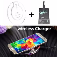 Universal wireless Charger Pad for Samsung Galaxy Tab A 8.0 T350 T351 Mobile Phone Charger USB wireless receiver for motorola