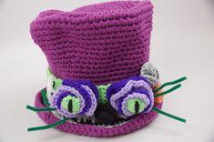 Alice in Wonderland Crochet Top Hat Gallery